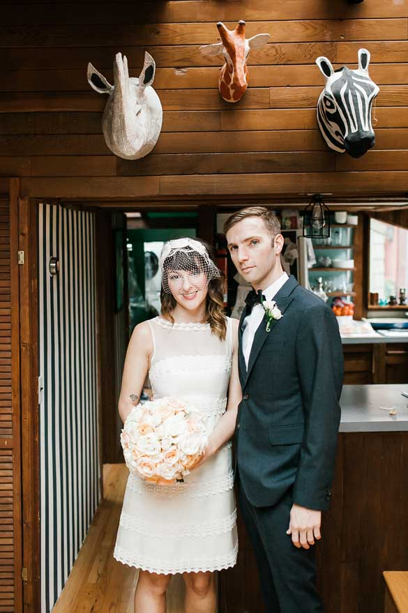 Chris and amber looks right out of the pages of GQ before their wedding at Canlis in Seattle.