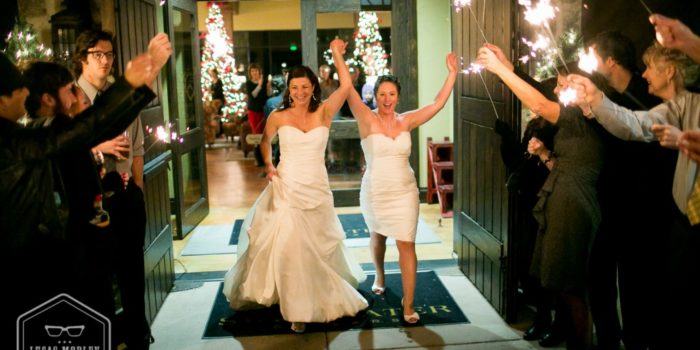 Jenn & Sarah : Wedding at Swiftwater Cellars