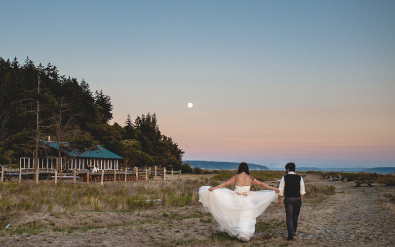 John & Amber // Intimate Pacific Northwest celebration