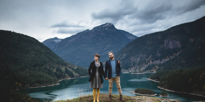 Brittany & Adam // Fall in the North Cascades