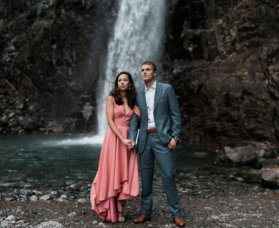 Ryter & Elisa // City style in the mountains