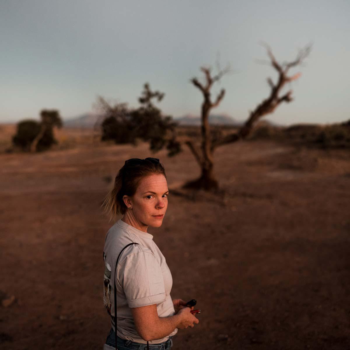 Kathryn in Moab Utah.
