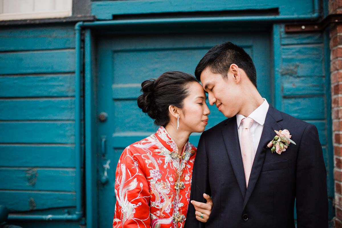 Styled wedding at Sodo Park in Seattle by Lucas Mobley