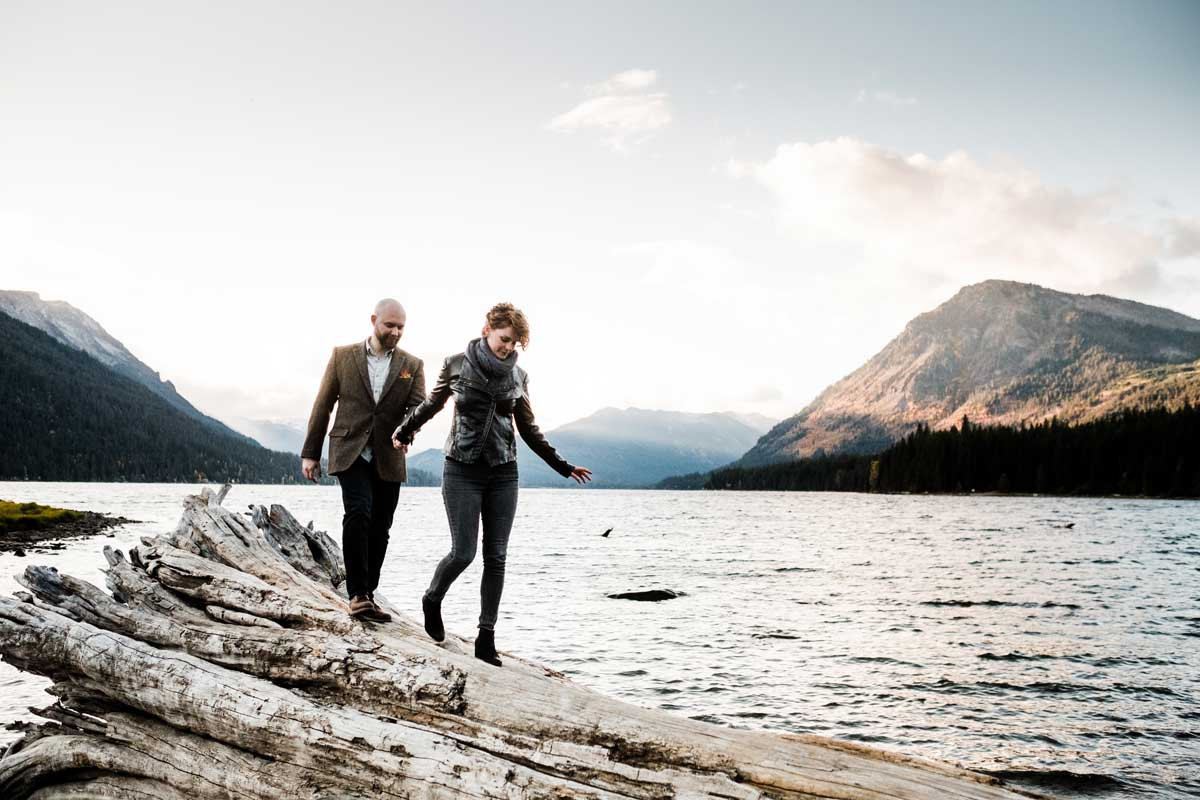 Lake Wenatchee State Park is one of the top 10 engagement locations in Washington.