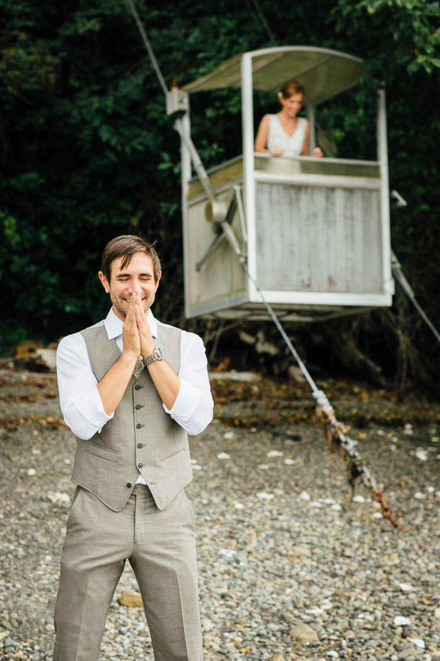Seattle wedding photography on the Hood Canal