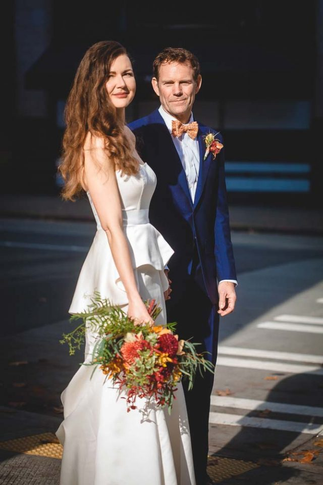 Carla and Stephans elegant wedding at Escala in Seattle