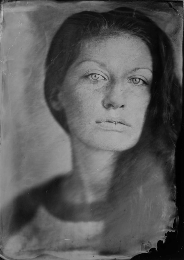 Seattle tintype photography