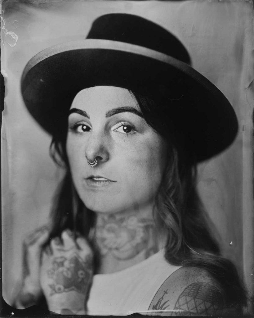 Portland tintype photographer studio