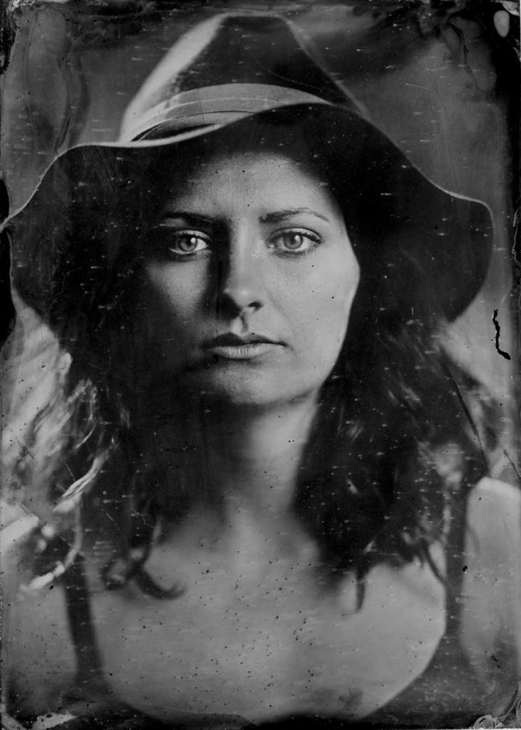 A wet plate collodion photograph taken near Seattle.