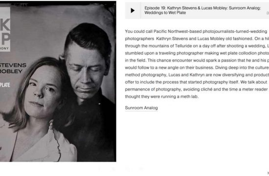 This is Backdrop episode - tintype photography podcast