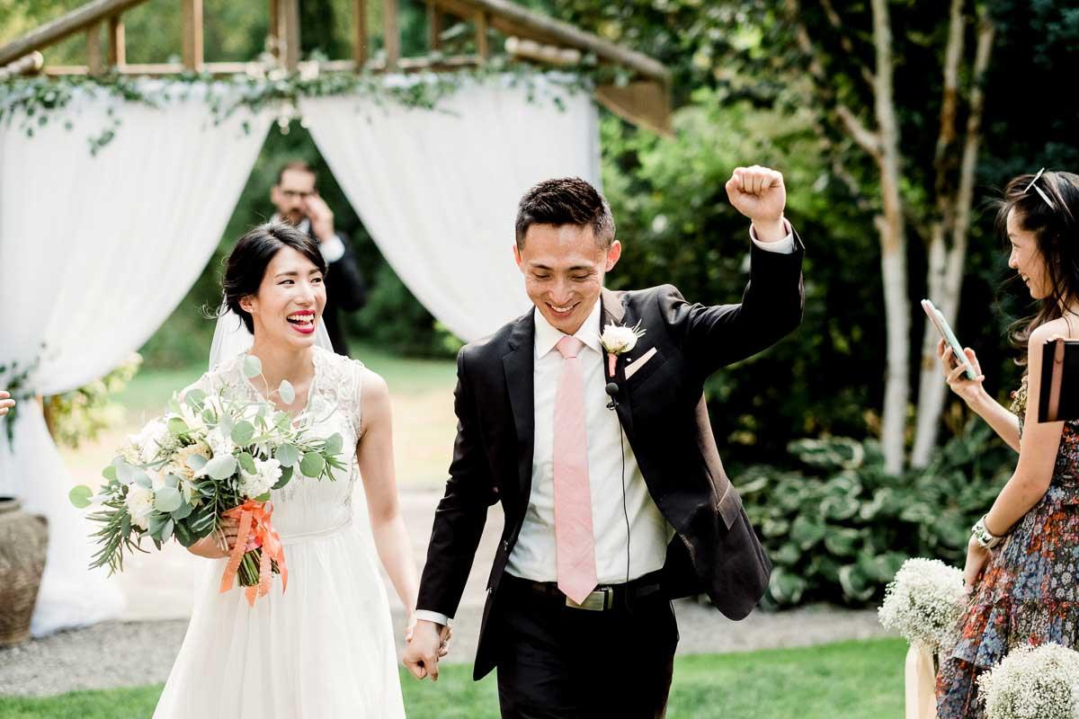 Jardin del Sol - one of the best outdoor wedding venues in Seattle.