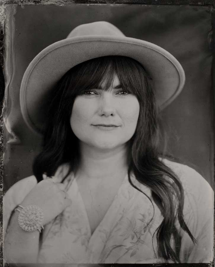 A tintype photo in Seattle